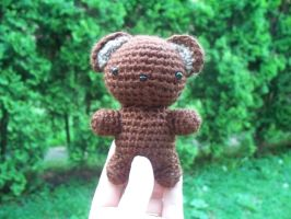 Amigurumi: Ted the Bear by darknesschildsin