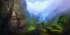 Serene Valley by Kashuse