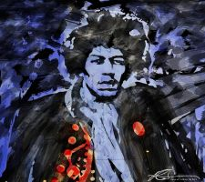 Jimi Hendrix Composed by ruv