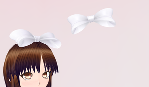 MMD- Hair Bow by Y0K0NI