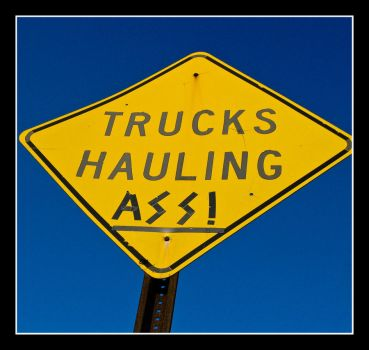 Trucks Hauling Ass by panfah