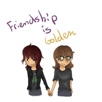 Friendship is golden by Bienoo