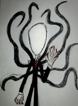 The Slenderman by Rox-the-Historian