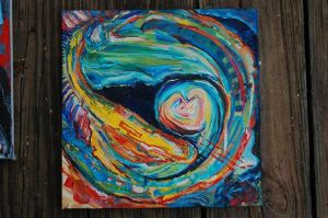 Acrylic Abstract by Chelovek