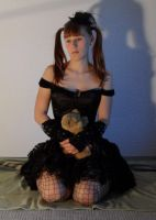 a doll and its teddy8 by Amliel