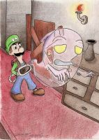 Luigi's Mansion by DogDemonsRock5