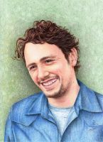 James Franco Commission by IreneShpak
