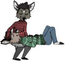 gay deer by fqs