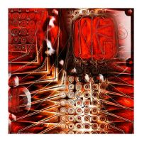 Ab13 Red Abstract by Xantipa2