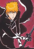 Kurosaki Ichigo:Bleach 476-The Lost by master-cartoonist