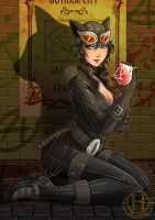 Bat-cute - Catwoman by Hedrick-CS