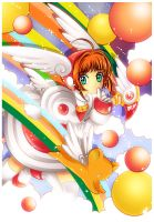 Sakura - Over The Rainbow by GBIllustrations