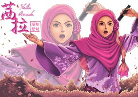 The rise of a diva -Shila Amzah by ShinRyuShou
