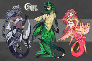[OPEN 1/3] Mermay Adopts by Cerylune