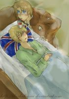 APH :If Iggy has cought a cold by TheShakunai