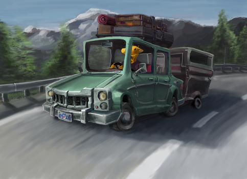 Cross-Country Drive by mister-k81