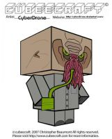 Cubeecraft - Ood 'Nephew' by CyberDrone