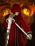 Assassin in red robe by JhonyDraw