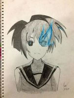 Kuroi Mato x Black Rock Shooter by ianeeee