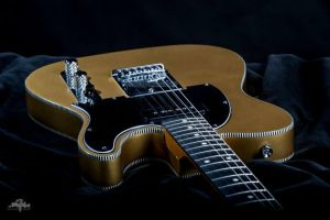 Custom Gold Telecaster by RileyHavoc