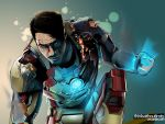 Battletorn Mk42 Iron Man by thinkwithoutlimits