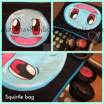 Squirtle bag by ArtimasStudio