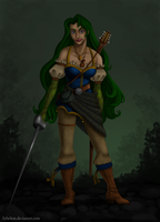 The Half-Blood Ranger Bard by Asheltots