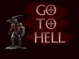 GO TO HELL dante's inferno by Luke-Captain