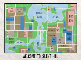 Silent Hill Map by DJgame42