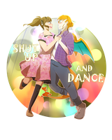 She said SHUT UP AND DANCE WITH ME by b0409d