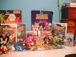 Sonic collection lol by superfangirl28