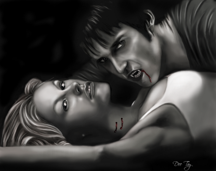 Sookie and Bill by Dee-Tay