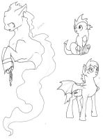 Characters by IceOfWaterflock