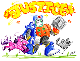 Duo JUSTICE! by Sizab