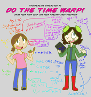 TIME WAAAAAAAARP by ceebers