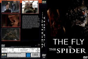The Fly vs. The Spider DVD cover by SteveIrwinFan96