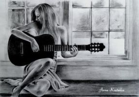 Me And My Guitar by annakoutsidou