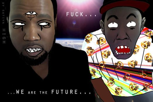 TYLER THE CREATOR and YEEZY WE ARE THE FUTURE by SATIVA85