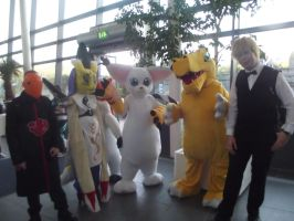 MCM Midlands Expo 2013 - The Digimon by In2FF7