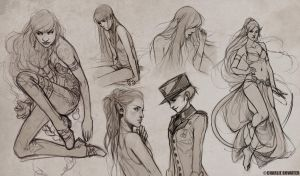 Sketches X by Charlie-Bowater