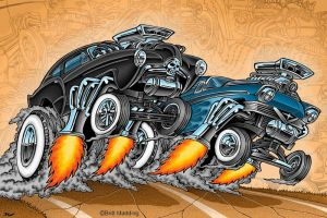 Gasser Drag Race by Britt8m
