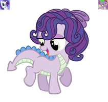 RariSpike Filly Auction Adopt CLOSED by Violet-BlueAdopts