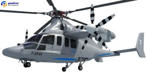 Eurocopter X3 Helicopter by Gandoza