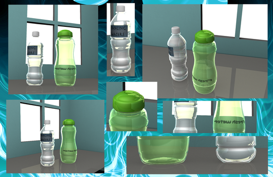 Bottles - First project by rainieday91