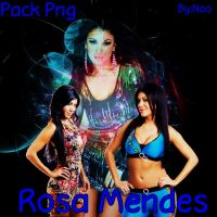 pack png rosa mendes by NaoFabulous