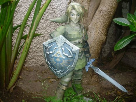 Link 50 cm papercraft by LukeFel