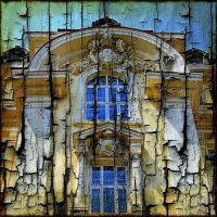 Architecture on Burnt Wood 4 by AngelEowyn
