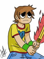Scott Pilgrim by ArtisticCole