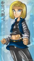 Android 18 by XJKenny