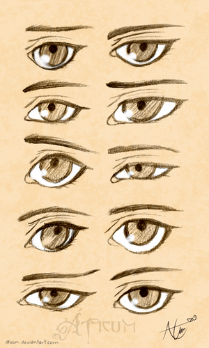 Teen - Child Eyes Study by Aticum
